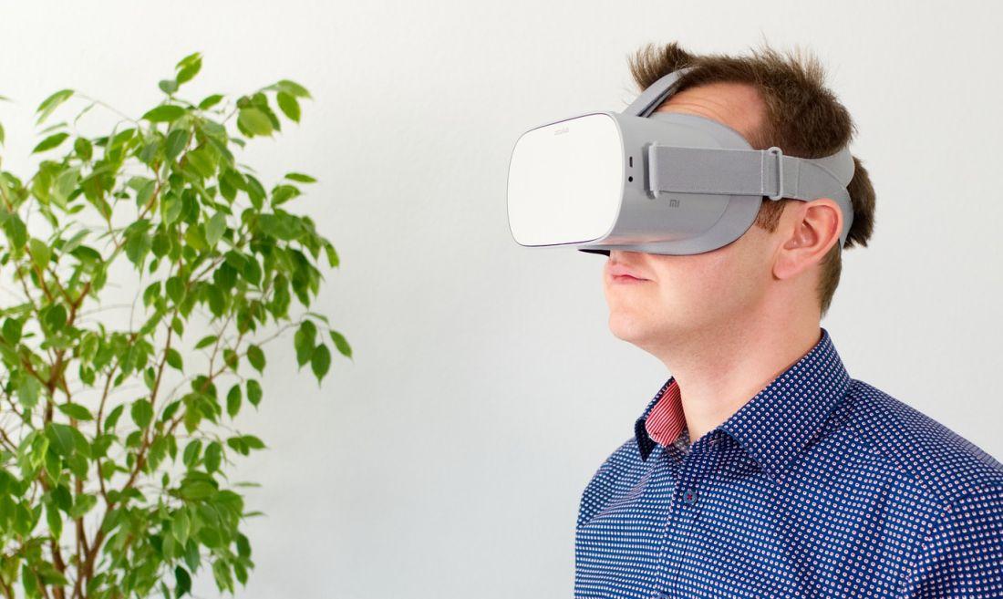 Therapie mit Virtual Reality Brille